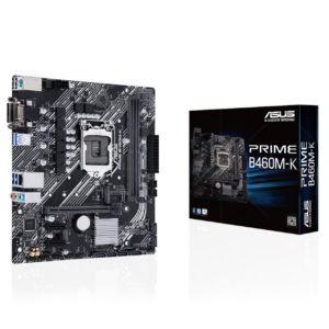 Mainboard ASUS PRIME B460M-K (Intel B460, Socket 1200, m-ATX, 2 khe Ram DDR4)